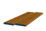 12 x 89mm Pre-Stained Redwood TGB Sheeting (8x0.9m)