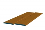 8 x 89mm Pre-Stained Redwood TGV Sheeting (10x0.9m)