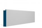 25 x 125mm Pre-Primed / Pre-Painted Wood Skirting Base Board (5x2.4m)