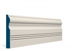 19 x 144mm PRE-PAINTED Wood Braden Skirting - IVORY (5x2.4m)