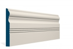 19 x 169mm PRE-PAINTED Wood Braden Skirting - IVORY (5x2.4m)