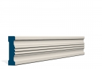 25 x 92mm PRE-PAINTED Wood Braden Architrave - IVORY (inc Plinth Blocks)