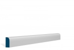 19 x 44mm Pre-Primed / Pre-Painted Wood Bullnose Architrave or Skirting (5x2.25m)