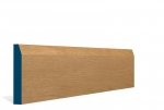 19 x 119mm Pre-Varnished Solid White Oak Chamfered Skirting (5x2.4m)