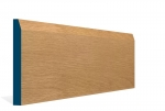 19 x 169mm Pre-Varnished Solid White Oak Chamfered Skirting (5x2.4m)