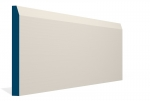 19 x 194mm PRE-PAINTED Wood Chamfered Skirting - IVORY (5x2.4m)