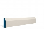 19 x 69mm PRE-PAINTED Wood Chamfered Architrave/Skirting - IVORY