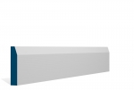 19 x 94mm Pre-Primed / Pre-Painted Wood Chamfered Architrave or Skirting (5x2.25m)