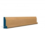 19 x 69mm Pre-Varnished Solid White Oak Chamfered Architrave, inc. Hockey Stick (5x2.13m)