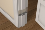 Pre-Primed / Pre-Painted Wood ADJUSTABLE REBATED Door Frame