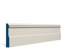 19 x 119mm PRE-PAINTED Wood Glaslough Skirting - IVORY (5x2.4m)