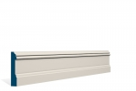 19 x 94mm PRE-PAINTED Wood Glaslough Architrave/Skirting - IVORY