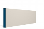 19 x 144mm PRE-PAINTED Wood Square Edge Skirting - IVORY (5x2.4m)